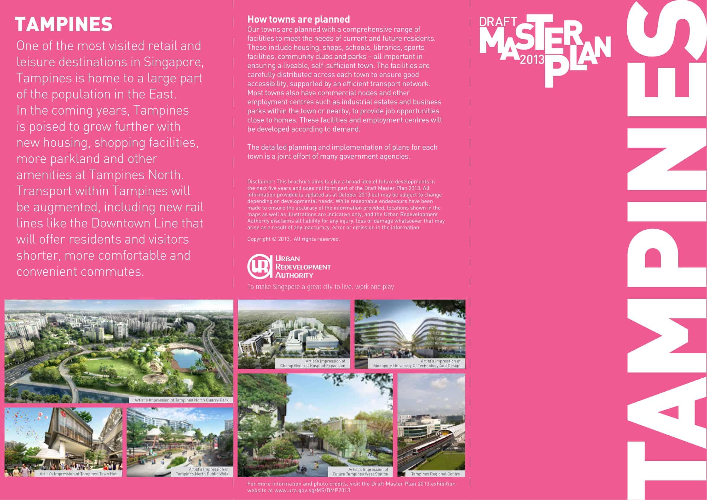 parc central residences master plan tampines