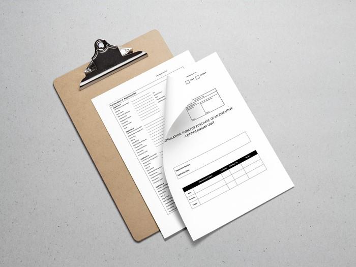 parc central residences application form