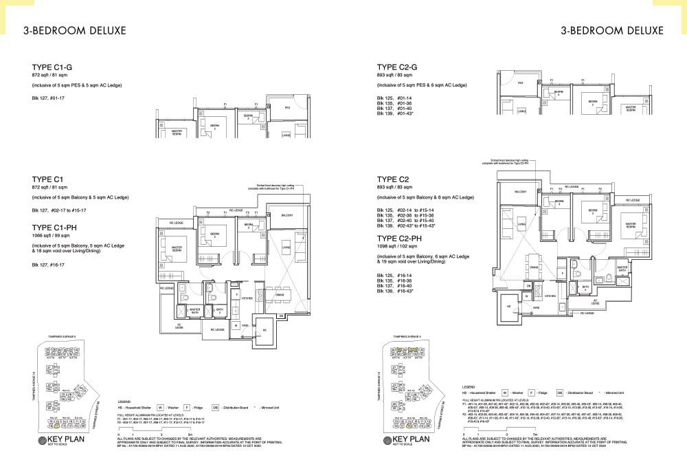Parc Central Residences Floor Plan