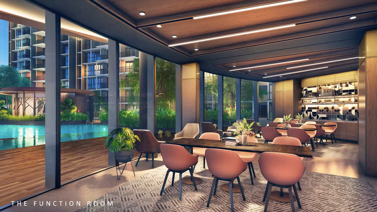 Parc Central Residences The Function Room